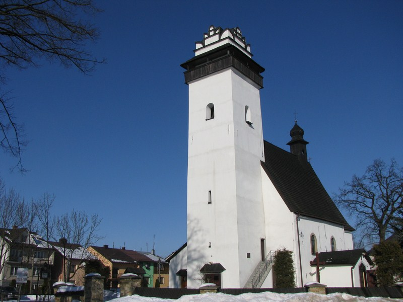 Parafia Konradów - budowa